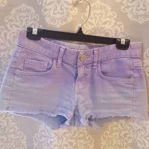 Mossimo purple shorts